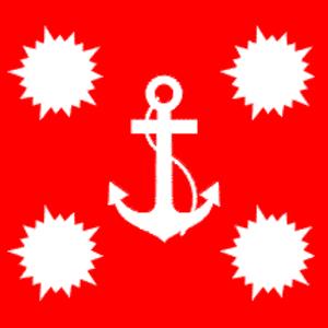 Bülent Bostanoğlu - Image: Flag of Turkish Naval Forces Command
