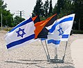 Flags of Israel and Israel Combat Engineering Corps.jpg