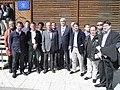 Flickr - Convergència Democràtica de Catalunya - Oriol Pujol i la delegació de l'Anoia al Congrés de la Federació de la Catalunya Central.jpg