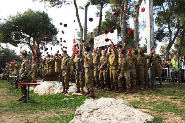 Flickr - Israel Defense Forces - Paratrooper Bridage Welcomes Newest Members