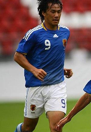 Shinji Okazaki - Okazaki with the Japan national football team