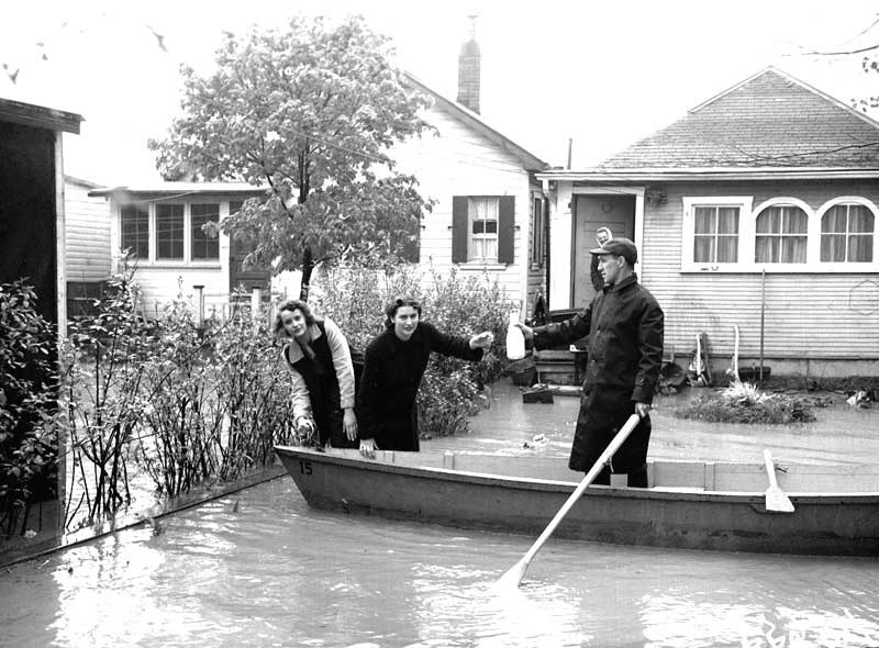 Flooding of Humber River, June 2, 1947