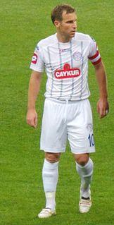 Florin Cernat Romanian international former footballer