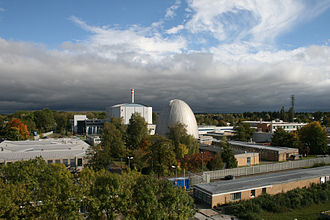 Forschungsreaktor München II - Research reactor Munich I (foreground) and II (background)