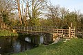 Footbridge across the Great Stour River - geograph.org.uk - 405213.jpg