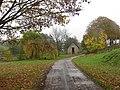 Footpath passes Mill Barn - geograph.org.uk - 1575900.jpg