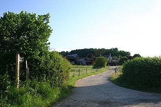 Boxted, Suffolk - Footpath to Gallowgate Farm and Fenstead End