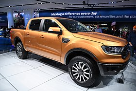 Ford Ranger Pickup - 2018 North American International Auto Show in Detroit (40359233915).jpg