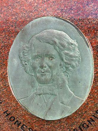 Nova Scotia Teachers College - Alexander Forrester by renowned sculptor John Wilson, NSCC, Truro