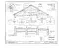 Fort Gibson, Barracks Building, Garrison Avenue, Fort Gibson, Muskogee County, OK HABS OKLA,51-FOGIB,1A- (sheet 5 of 14).png
