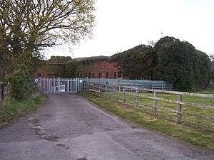 Wallington, Hampshire - The remnants of Fort Wallington