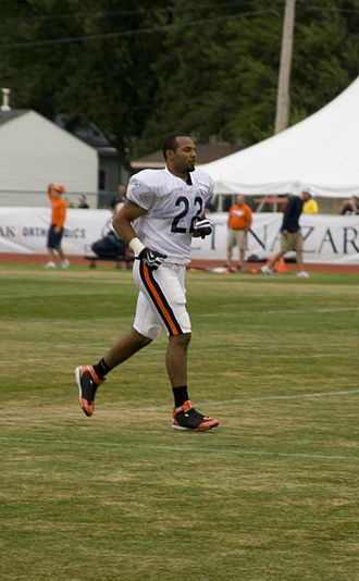 Matt Forte - Forte during training camp in 2009