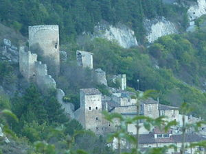Castle of Fossa - Castle in Fossa