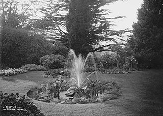 Fountain, Clungunford Hall