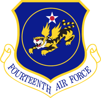 Fourteenth Air Force - Shield of the Fourteenth Air Force