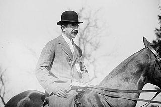 Foxhall P. Keene American thoroughbred race horse owner