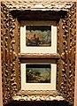 Francesco guardi, paesaggi di fantasia con alberi e castello, e con pescatore e cascinale, 1750-90 ca..JPG