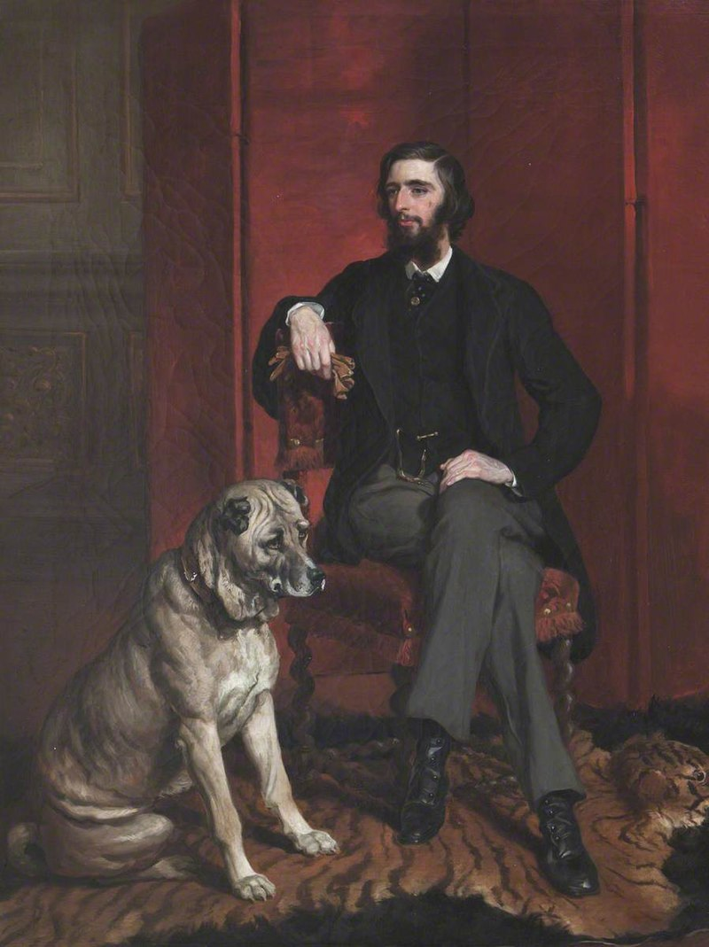Francis Grant (1803-1878) - John William Spencer Brownlow Egerton Cust (1842–1867), 2nd Earl Brownlow - 436077 - National Trust.jpg