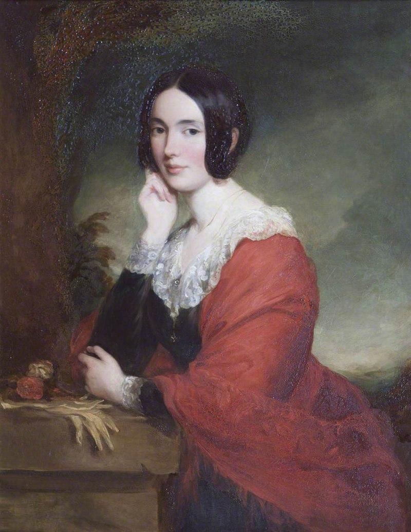 Francis Grant (1803-1878) - Lady Marian Margaret Compton (1817–1888), Viscountess Alford - 435959 - National Trust.jpg