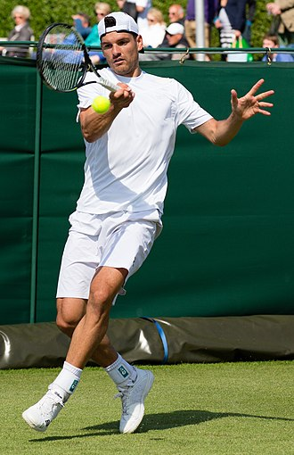 Frank Dancevic - and at qualifying for the 2015 Championships