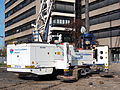 Franki Foundations Belgium, K2 0030, T63, BT42 Cat Drilling rig at Leiden, pic1.JPG