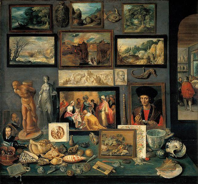 File:Frans Francken (II), Kunst- und Raritätenkammer (1636).jpg