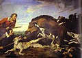 Frans snyders, caccia al cinghiale, 1649.jpg