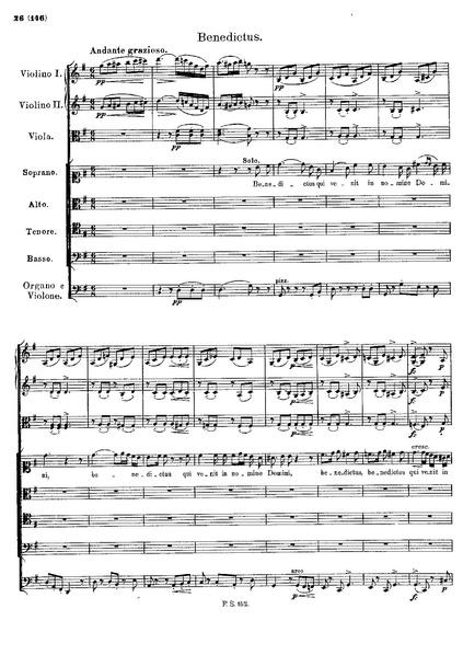 File:Franz. Schubert Mass 2 D.167 Benedictus..pdf