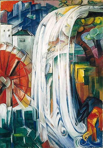Franz Marc: The Bewitched Mill