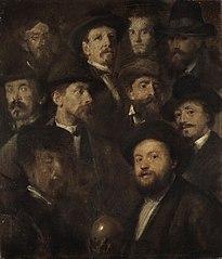 Kegelgesellschaft – Zehn Künstlerporträts