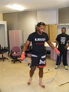 Freddy Kemayo French kickboxer