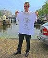 Free Travel-Shirt White NLD A'dam Binnenwaterbeheer MSZ090627.JPG
