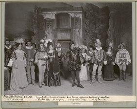 Frihetsbröderna, Vasateatern 1899. Föreställningsbild - SMV - H11 020.tif