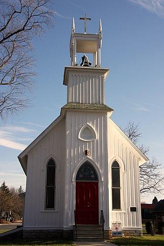 St. Charles, Minnesota - Image: Front Trinity St Charles MN