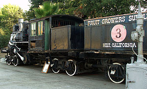 Climax Locomotive Works - Fruit Growers Supply Company Engine number 3, Climax type, geared locomotive