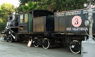 RailGiants Train Museum - Image: Fruit growers supply engine 3