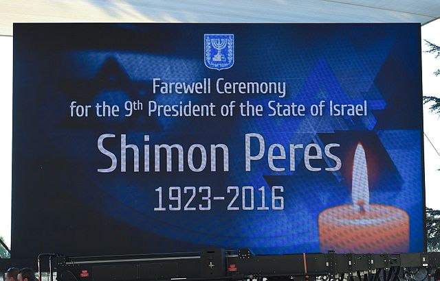 Funeral of Shimon Peres