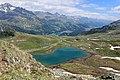 Furtschellas Wanderung Wasserweg Lejin Malachit Blick in Richtung St. Moritz.jpg