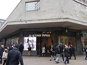 G-Star Raw - G-Star Raw store, Oxford Street, London, 2016