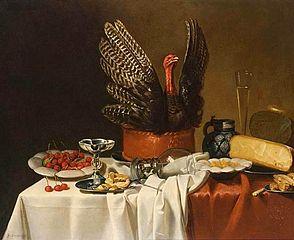Still Life with a Turkey Pie