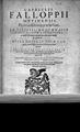 G. FALLOPIUS, Opera omnia....denuo edita, 16 Wellcome L0032117.jpg