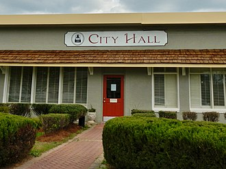 Greenville, Georgia - Image: GREENVILLE, GA CITY HALL