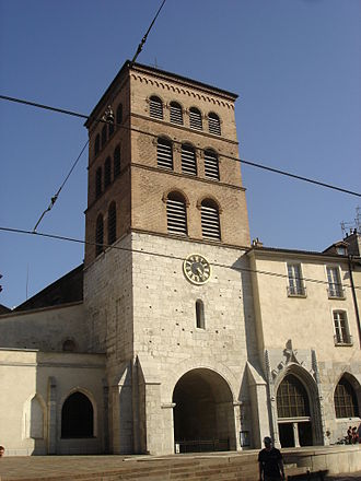 Isarn (bishop of Grenoble) - The pre-romanesque Cathedral of Grenoble dates from Isarn's episcopate