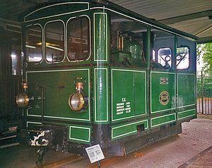 Tram engine - Steam tram locomotive of Geldersche Tramwegen, Netherlands