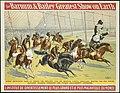 Galloping horses - The Barnum & Bailey greatest show on earth - L'Institut de divertissement le plus grand et le plus magnifique du monde.jpg