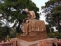 Gandhi statue-1-gandhi park-port blair-andaman-India.jpg