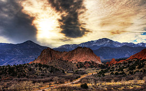 Garden of the Gods - Garden of the Gods at dawn