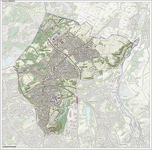 Landgraaf - Image: Gem Landgraaf Open Topo