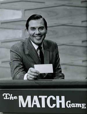 Gene Rayburn - Rayburn hosting the Match Game in 1964.