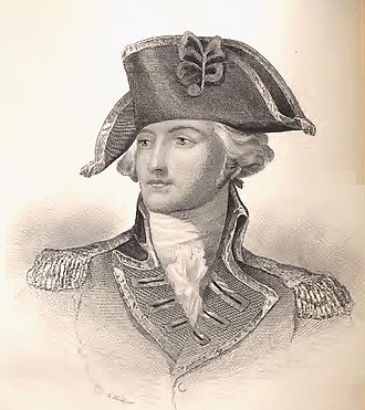 John Burgoyne -     General John Burgoyne engraving by S. Hellyer, 1860